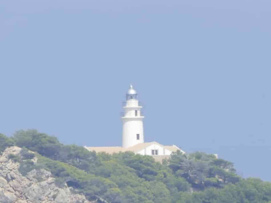 Leuchtturm Cala Rajada